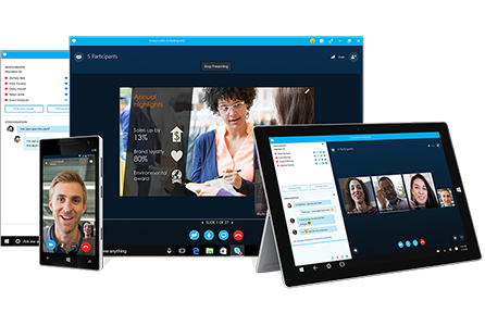 Video Conferencing | StaLeaf application being used across multiple devices
