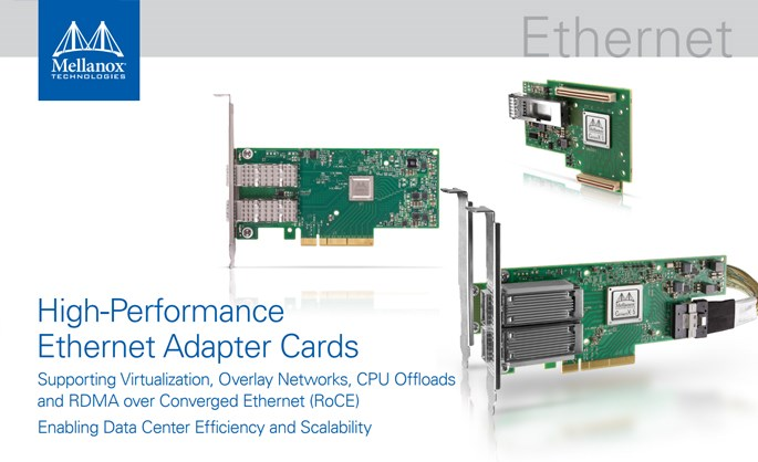 Mellanox Technologies partner - Mellanox High-Performance Ethernet Adapter Cards brochure