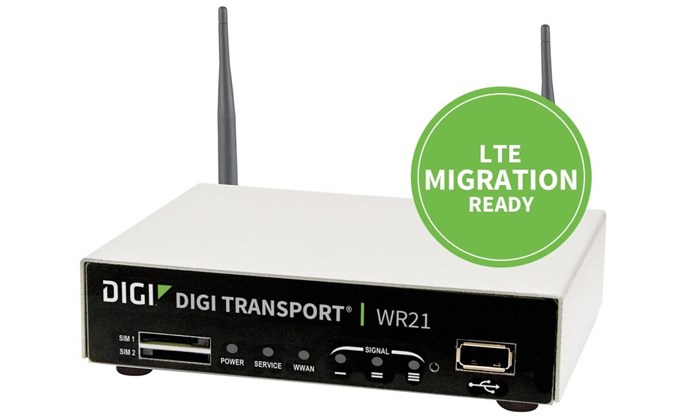 Digi Technologies partner - Digi TransPort WR21 router