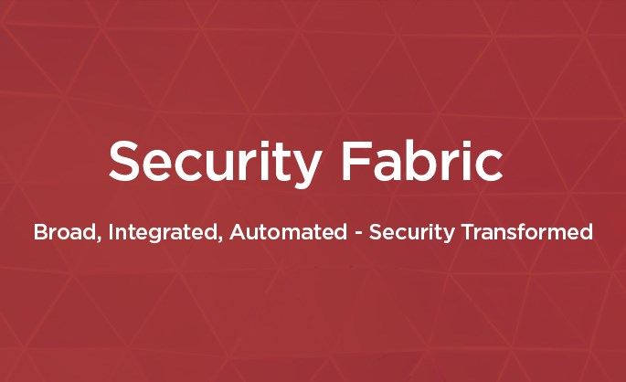 Silver Fortinet partner - Fortinet Security Fabric video