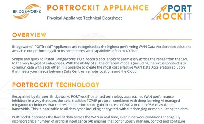Bridgeworks partner - Bridgeworks datasheet download thumbnail