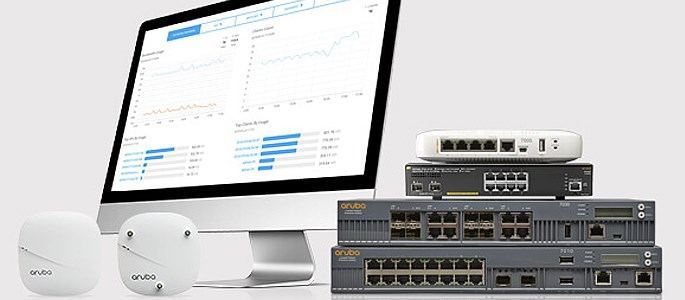 Cloud Managed Networking - The Aruba Central dashboard