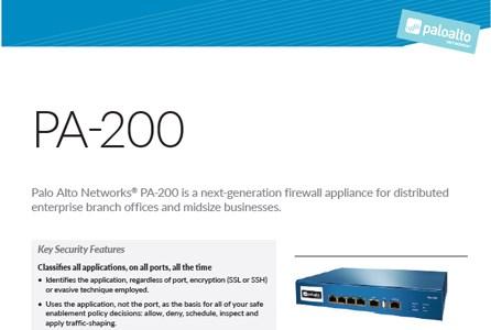 PA-200   Prodec Networks