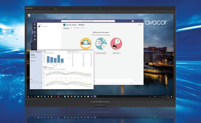 Windows Collaboration Displays by Avocor